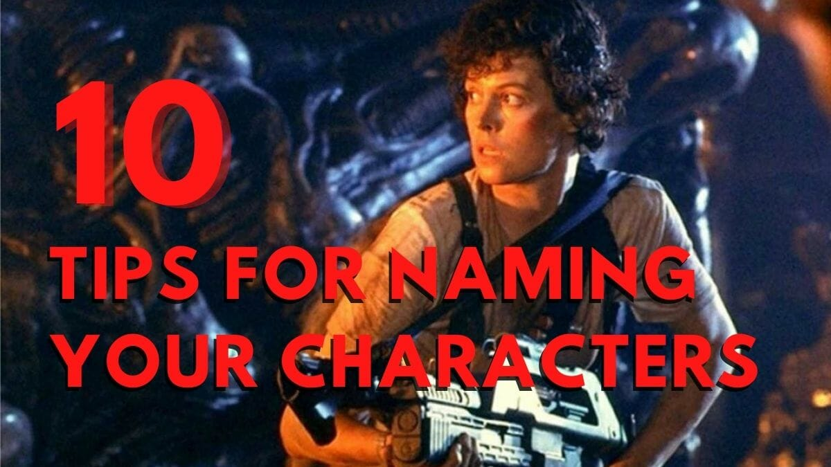 name your characters