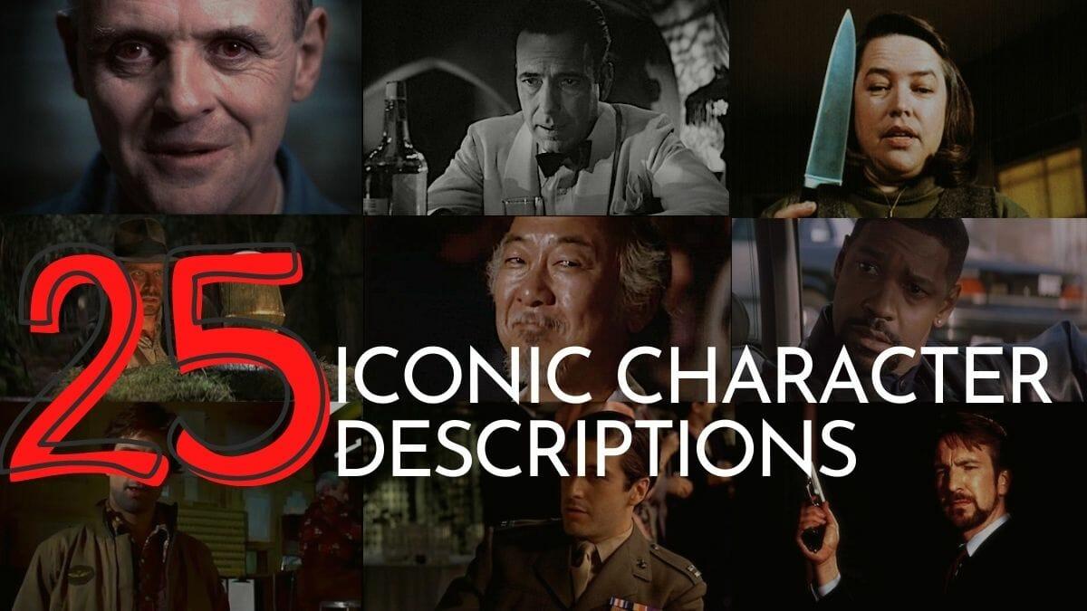 best character descriptions in film