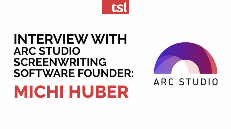 Interview with Arc Studio screenwriting software founder: Michi Huber